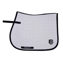 Kingsland Schiara Saddle Pad w/coolmax White