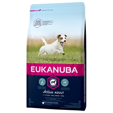 Eukanuba Adult Small size 3 kg FAST LAVPRIS