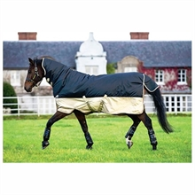 Horseware Mio All-In-One Heavy Black and Tan 350g