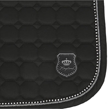 Kingsland bagnolet saddle pad w collmax DRESSAGE Full black