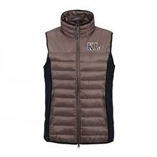 Kingsland Le Vanto Bodywarmer Brown Iron