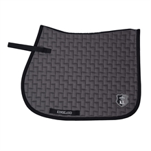 Kingsland Schiara Saddle Pad w/coolmax Grey December Sky